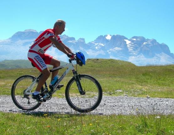 Bike through nature