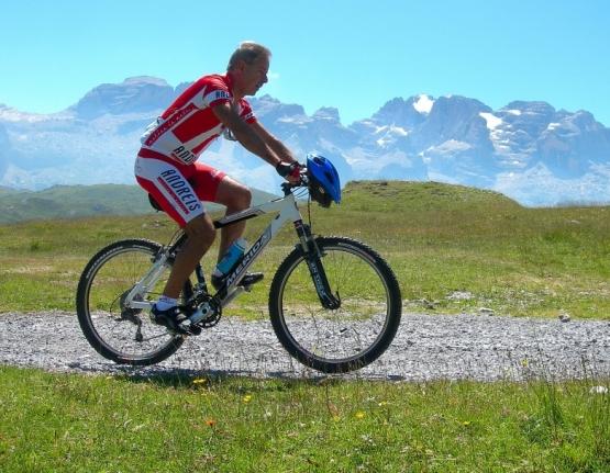 Mit dem Fahrrad durch die Natur